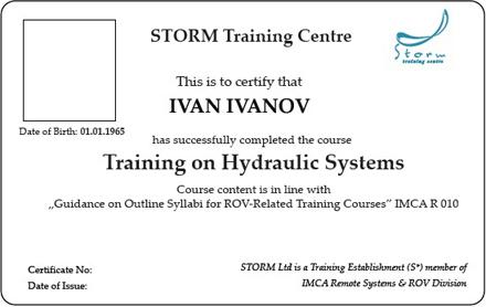 Training on Hydraulic Systems